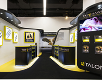 Trihawk exhibition stand @ ADF 2015 / Paris