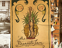The Pineapple Jam - Band Poster & Stickers