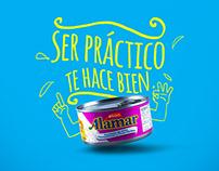 Atún Alamar - Ser práctico te hace bien.