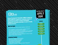 Cafe Entrepreneurship Poster Design