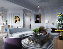 Apartment in Moscow.