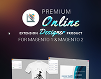Premium Online Product Designer Extension for Magento 1