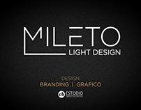MILETO Light Design » Branding e Design Gráfico.
