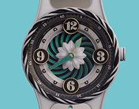 Floral Stravaganza Wrist watch