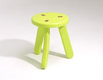Matsutake stool series