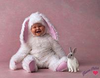 baby & little rabbit...