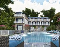 Hotel design in Ismayilli Lahic,Azerbaijan