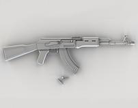 Semi Realistic AK-47