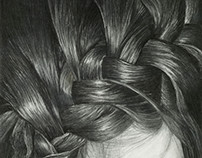 BRAID Charcoal Drawing
