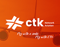 CTK Network Aviation Branding