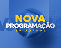 Nova Programação | TV Jornal