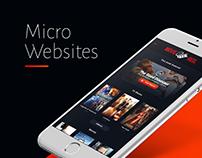 Micro Websites 2015