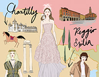 FASHION ILLUSTRATION FOR MARIE CLAIRE | 2018