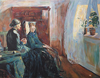 Reproduction from Edvard Munch