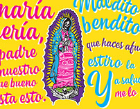 Lettering Ave María