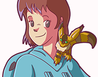 Nausicäa & Teto | Studio Ghibli 30th Anniversary Collab