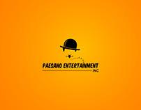 Logo for a comedy show
