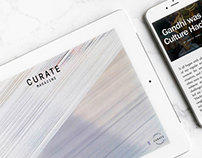 Curate Magazine Re-Brand