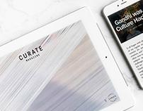 Curate Magazine Re-Brand
