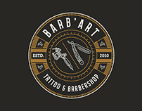 Tattoo and Barbershop badge