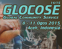 Design for 'Global Community Service' project.