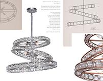 Imbrium Chandelier for ZEEV Lighting