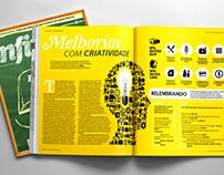 Diagramação de Revista • International Paper