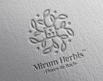 mirum herbis logo