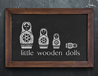 little wooden dolls