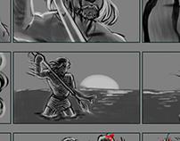 Visual Storytelling - Castaway Storyboard