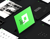 pixelart branding & website redesign