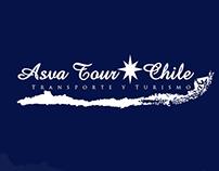 Branding Para Asva Tour Chile