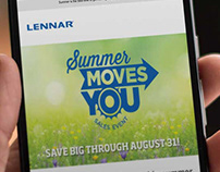 Lennar Summer Campaign