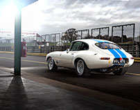 1962 FHC Competition E Type Jaguar