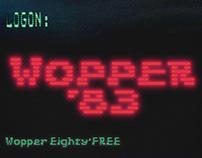 JVNE Wopper'83 FREE Font