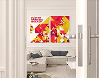 Poster Painting Mockup Vol. 6