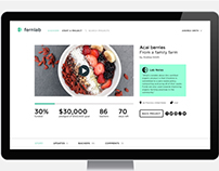 Fernlab web platform UX