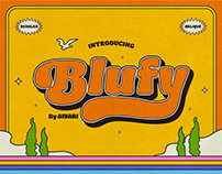 Blufy Font Family