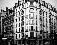 Street Photography: Black & White Grenoble