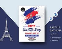 Bastille Day Flyer Template