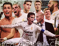 Real Madrid Cf - Face Book Cover