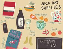 Sick Day Supplies