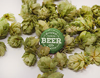 Bottle Cap Hop Mockup