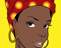 Afro pop art