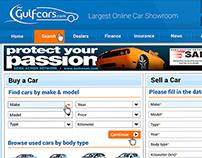 Gulf Cars Web Design