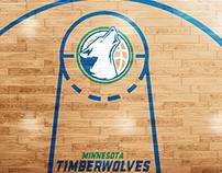 Redesign Minnesota Timberwolves Logo