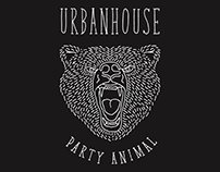 Party Animal t-shirts for UrbanHouse