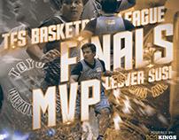 2017-18 TFS Basketball League Social Media Graphics