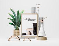 Felix Odor Cosmetic Logo / Logotipas Kosmetikos Įmonei
