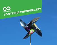 Fonterra Pinwheel DIY